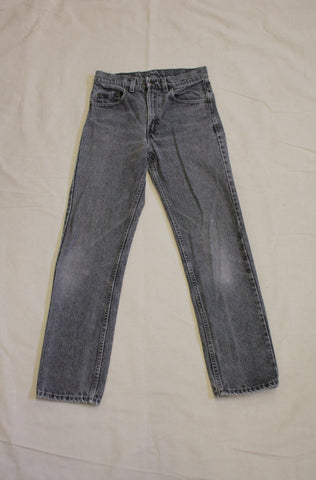 Vintage 1980's Levis 505 Denim Jeans - Black - La Lovely Vintage