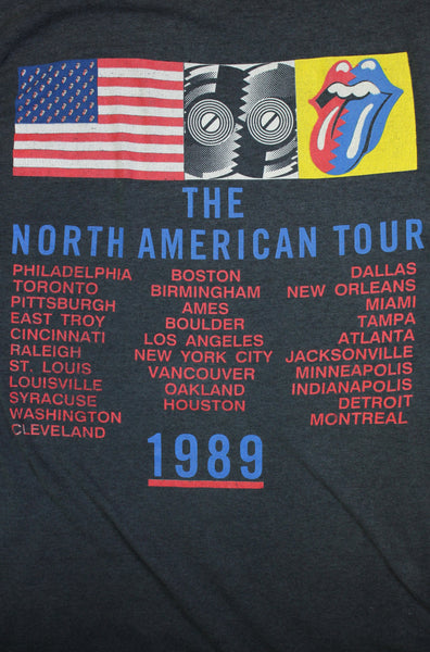 Authentic Vintage 1989 Rolling Stones North American Tour Tee