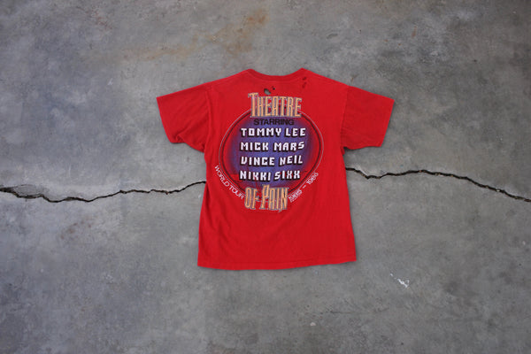 "Original Motley Crue ""Theater Of Pain"" 1985 Tour T-Shirt - La Lovely Vintage"