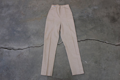 Vintage Deadstock 1950's Lady Levi's Shorthorn Side-Zip Pants - La Lovely Vintage