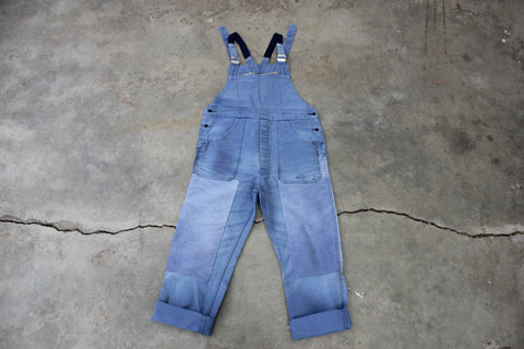 Vintage French Workwear Moleskin Overalls - La Lovely Vintage