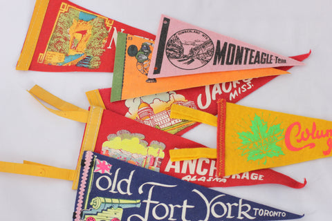 Mini Vintage Pennant Collection