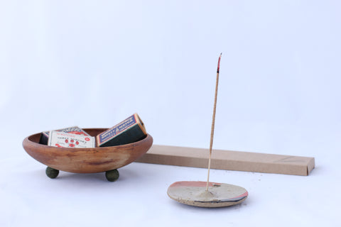 Nightshift Ceramics Handmade Incense Holder
