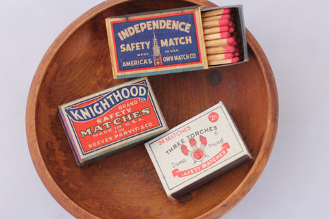 Antique Safety Matches - La Lovely Vintage