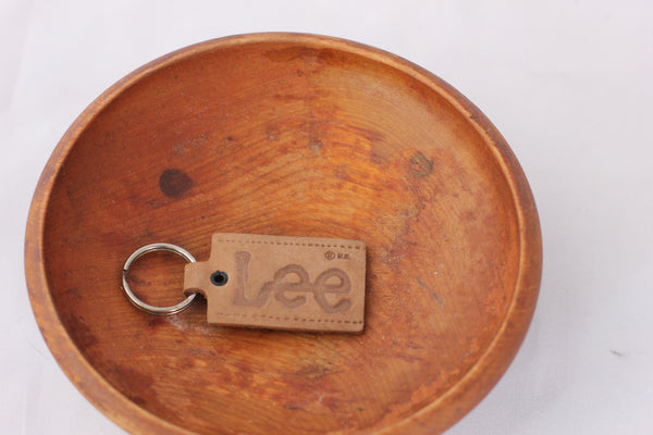 Vintage Lee Leather Fob/Key Chain - La Lovely Vintage