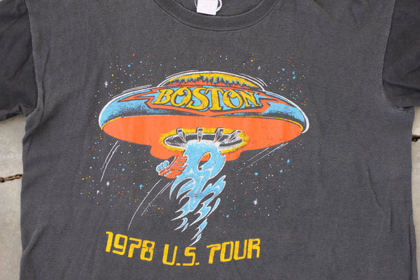 Authentic Vintage 1978 Boston U.S Tour Shirt - La Lovely Vintage