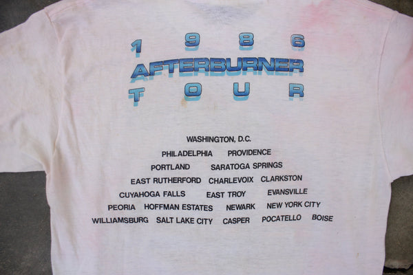 Authentic Vintage 1986 ZZ TOP Afterburner Tour  Shirt - La Lovely Vintage