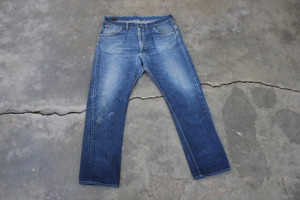 Vintage Late 50's Lee 101Z Denim Jeans 1960's - La Lovely Vintage