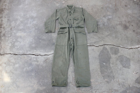 Vintage WW2 13 Star HBT Army Coveralls - La Lovely Vintage
