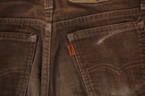 Vintage Levi's Orange Tab Corduroy Pants - Brown - La Lovely Vintage