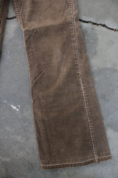 Vintage Levi's Big E Corduroy Pants - Light Brown - La Lovely Vintage