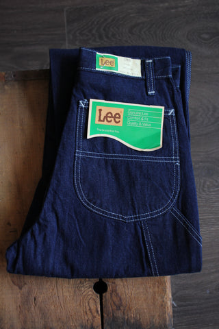 Vintage 70's Deadstock LEE Carpenters Dungarees - La Lovely Vintage