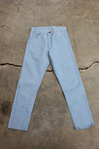 "Vintage Early 70s Levi's ""Big E"" Denim Jeans - La Lovely Vintage"