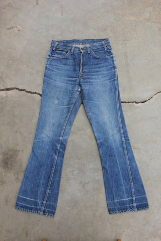 "Vintage 1960's/1970's ""Big E"" 646 Levi's Denim Jeans - La Lovely Vintage"