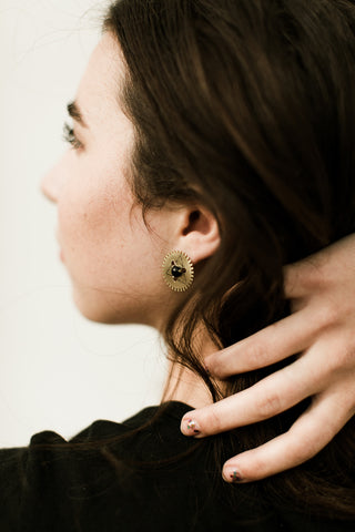 LUNASOL Designs - Windmill Post Earrings - La Lovely Vintage