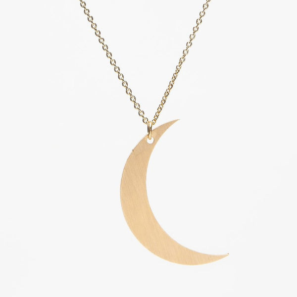 Crescent Moon Necklace - La Lovely Vintage
