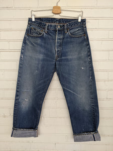 "Vintage 1960's ""Big E"" Levi's Denim 501 Jeans"