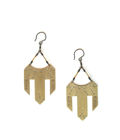LUNASOL Designs - Saguaro Earrings - La Lovely Vintage