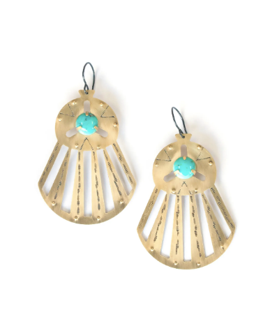 LUNASOL Designs - Horizon Earrings - La Lovely Vintage