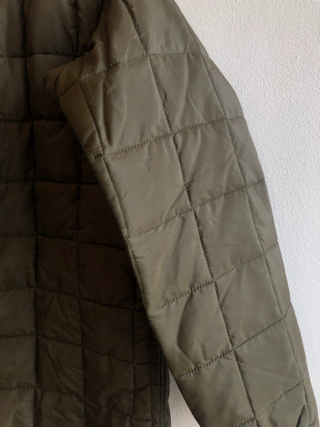 Vintage 1980's European Quilted Military Jacket Liner