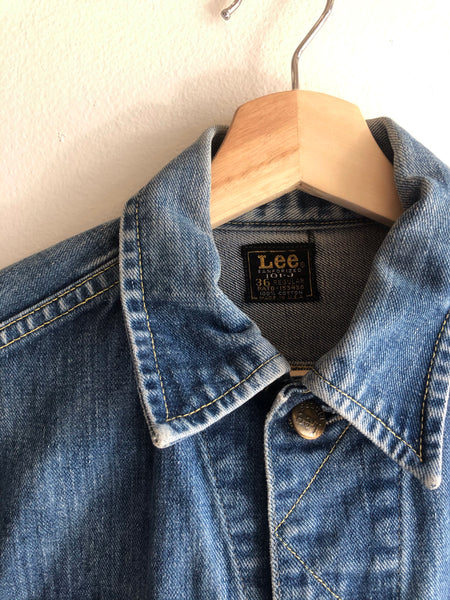 Vintage 1960's Lee 101J Denim Trucker Jacket