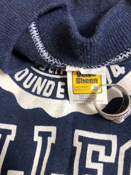 Vintage Deadstock 1970's Colorado College Sweatshirt