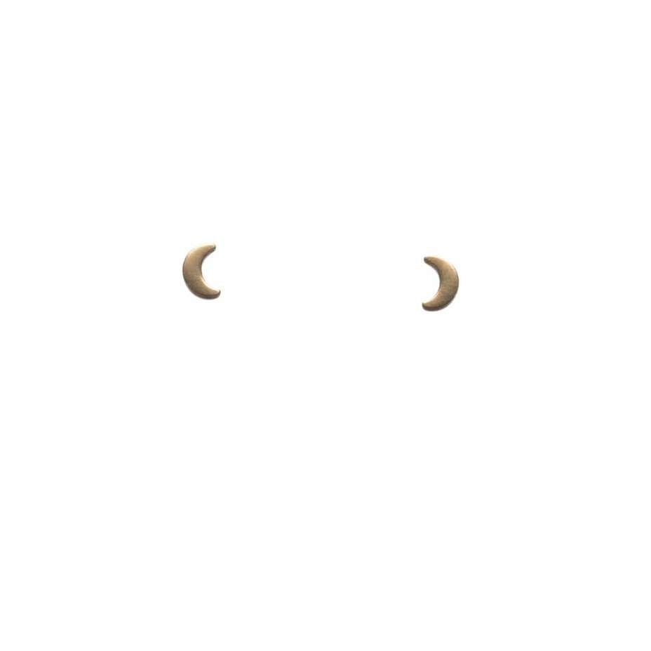 Michelle Starbuck Designs - Crescent Moon Earrings - La Lovely Vintage