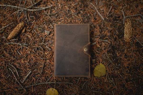 Kodiak Leather - Drifter Journal - La Lovely Vintage