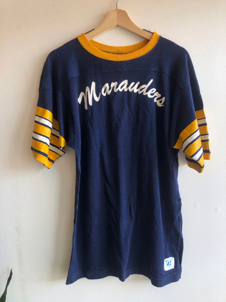 "Vintage 1960/1970's ""Marauders"" Champion Football Shirt"