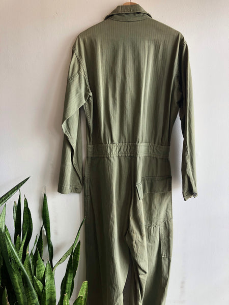Vintage WW2 13 Star HBT Army Coveralls