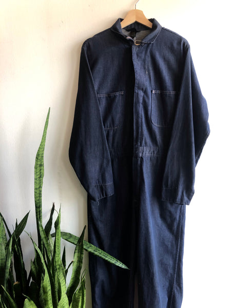 Vintage 1960s/1970s Selvedge Denim Coveralls
