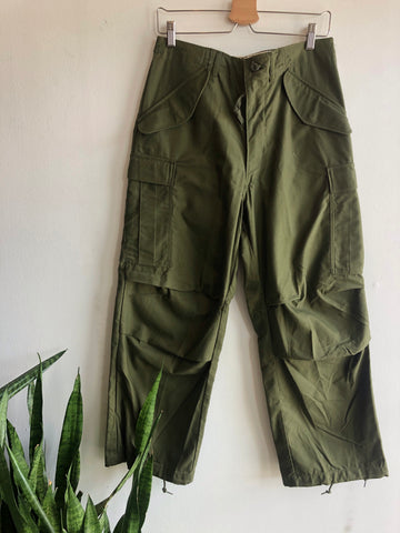 Vintage 1980's Deadstock Paratrooper Military Trousers