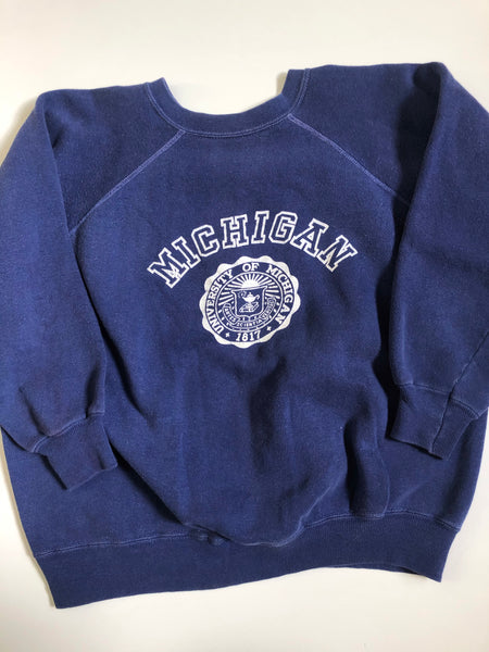 Vintage 1960's University of Michigan Sweatshirt