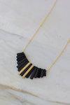 Oceanne - Fringe Necklace - La Lovely Vintage