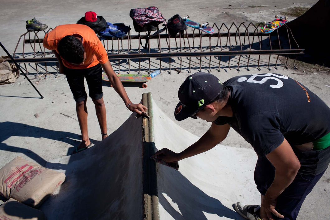 $250 Donation to Build Skateboards, Deliver Donations & Construct DIY Skate-Able Space