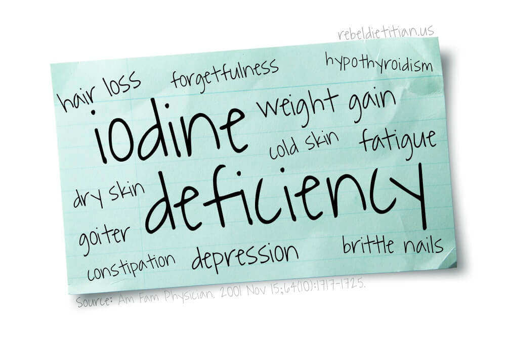 Iodine Deficiency And Its Profound Effects On Your Health