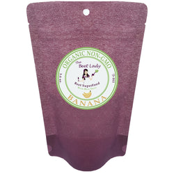 (BANANA) The Beet Lady-Beet SuperFood Powder with Real and Raw Fruit Power, Organic