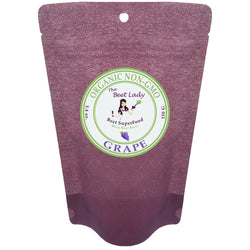 (GRAPE) The Beet Lady-Beet SuperFood Powder with Real and Raw Fruit Power, Organic