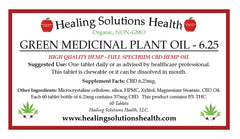 Green MEDICINAL Plant Oil (BEET SUPERFOOD, TABLETS and SKIN CREAM)