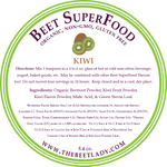 The Beet Lady Beet SuperFood Ingredients (Kiwi)