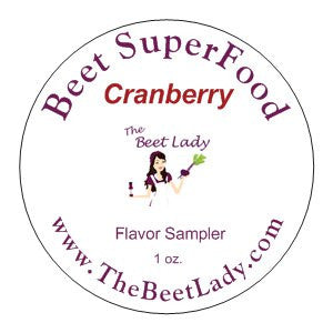 Beet SuperFood CRANBERRY Flavor Sampler