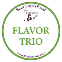Beet SuperFood Flavor Trio - Your Choice...Any 3 Flavors!