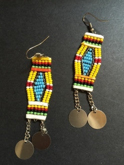 Small Maasai earrings