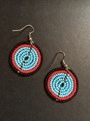 Maasai earrings