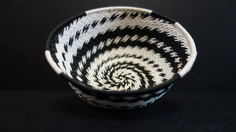 South African telephone wire bowl 4 inch