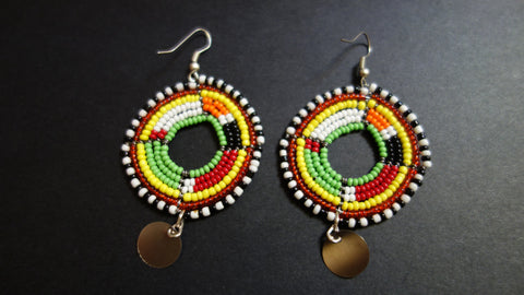 Large Maasai earrings