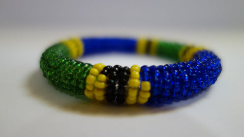 Maasai bangle Tanzanian colours