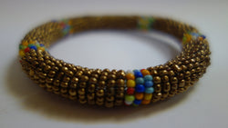 Maasai bangle bronze