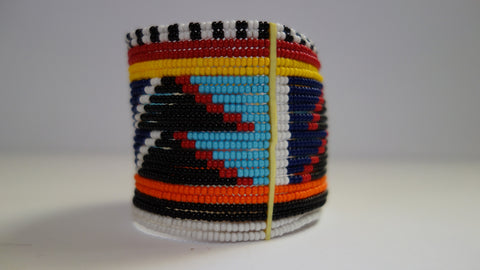 Maasai cuff traditional large