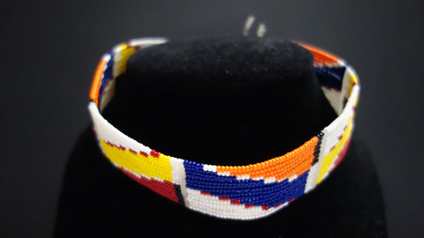 Maasai choker necklace
